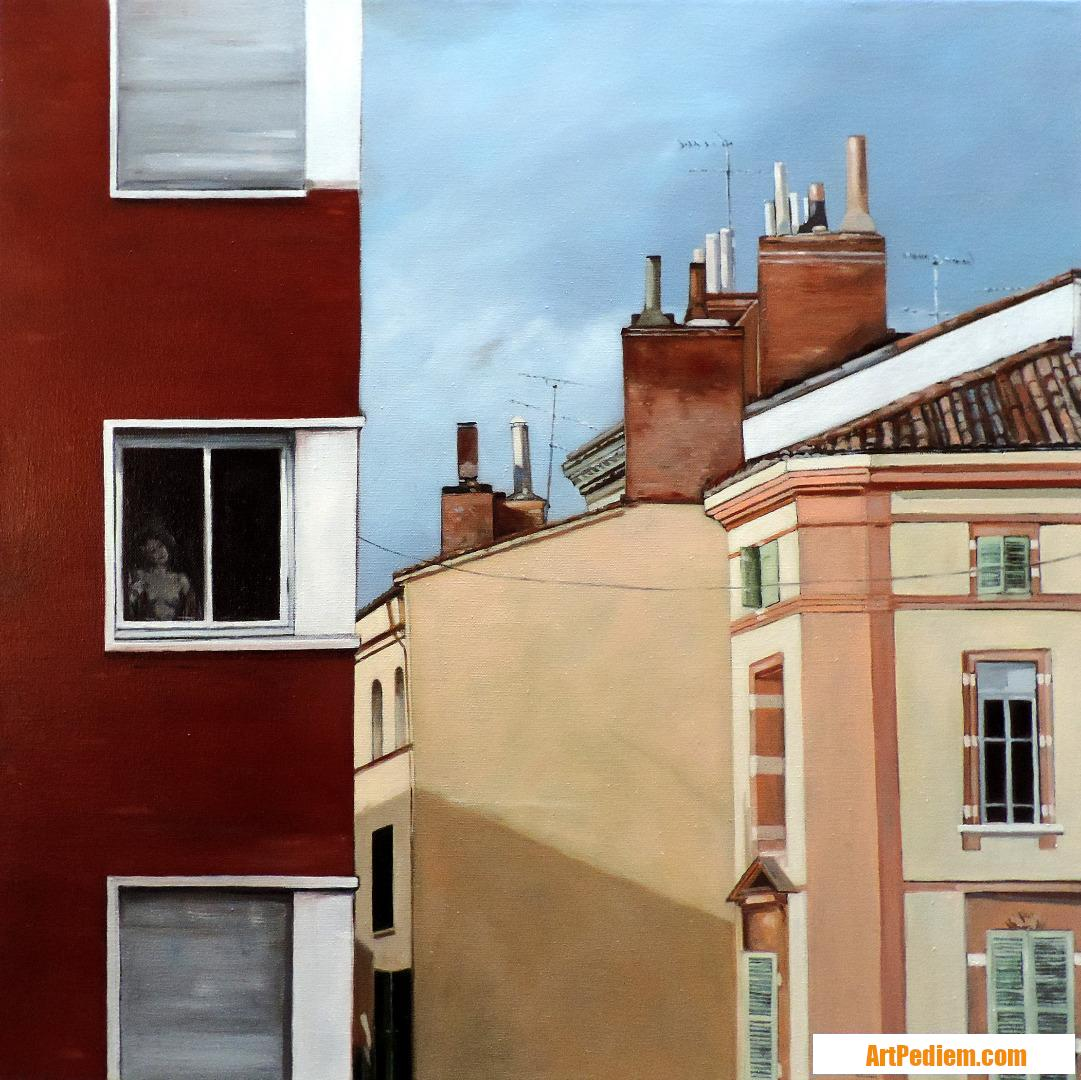 Oeuvre Bientôt la pluie de l'Artiste Hugues Renck