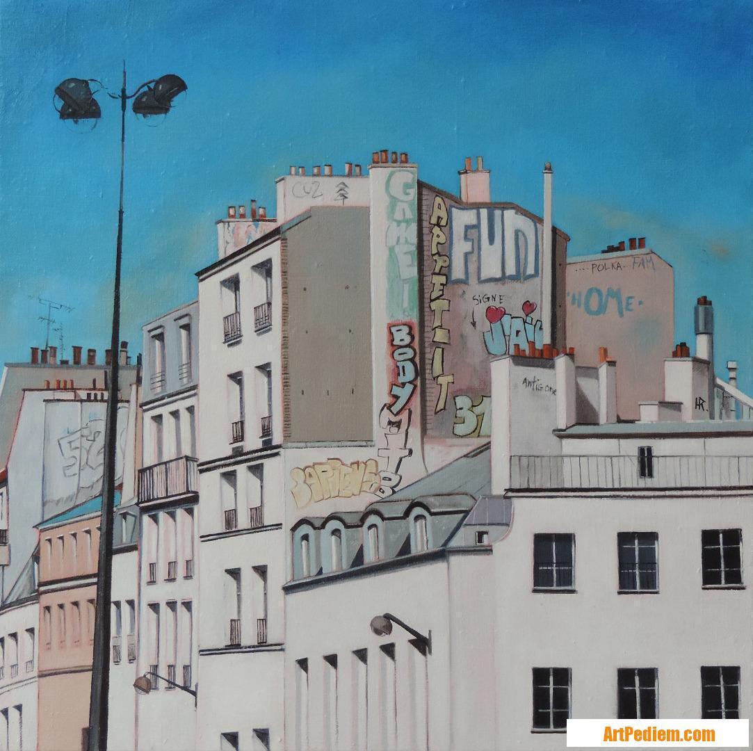Oeuvre Fun de l'Artiste Hugues Renck