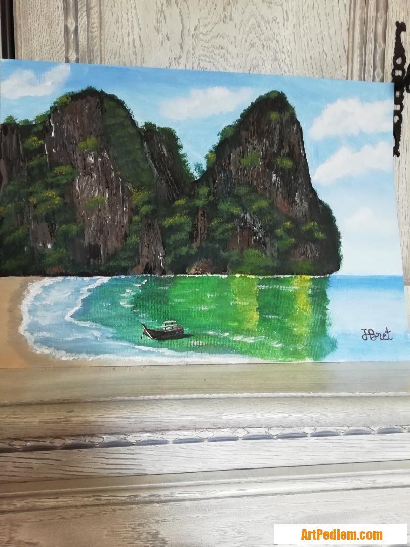 Oeuvre thailande de l'Artiste jean pierre bret