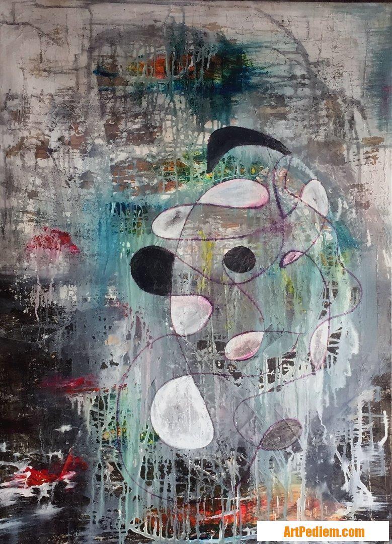 Oeuvre SEPT 18-1 de l'Artiste MAUD SAINT MARTIN