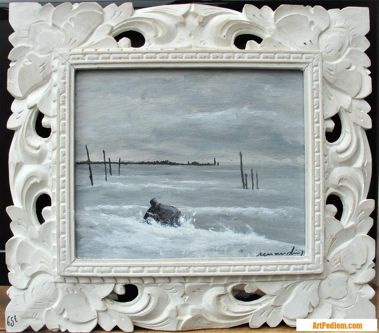 Oeuvre Bouée de l'Artiste Jean louis Renaudin