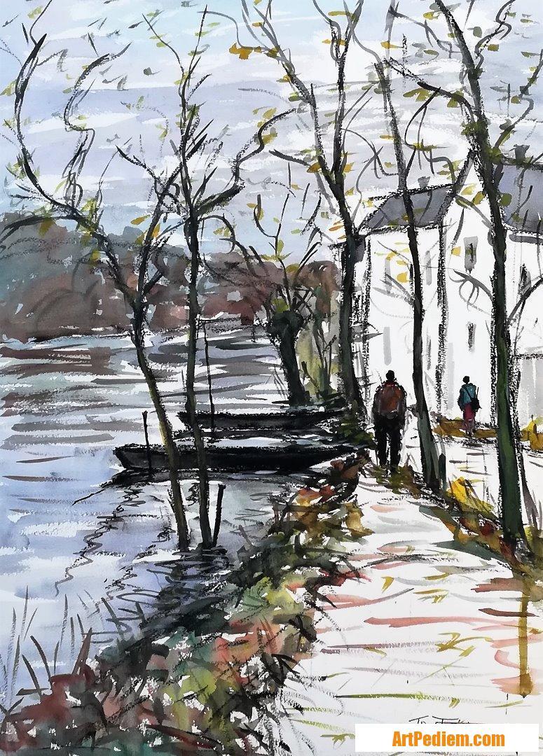 Oeuvre Angers ( Maine et Loire ) de l'Artiste Trost Félix