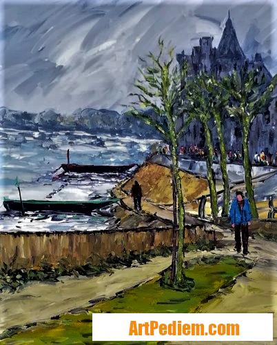 Oeuvre Montsoreau ( Maine et Loire ) de l'Artiste Trost Félix
