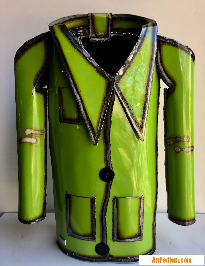 Oeuvre La veste verte de l'Artiste Gil.S