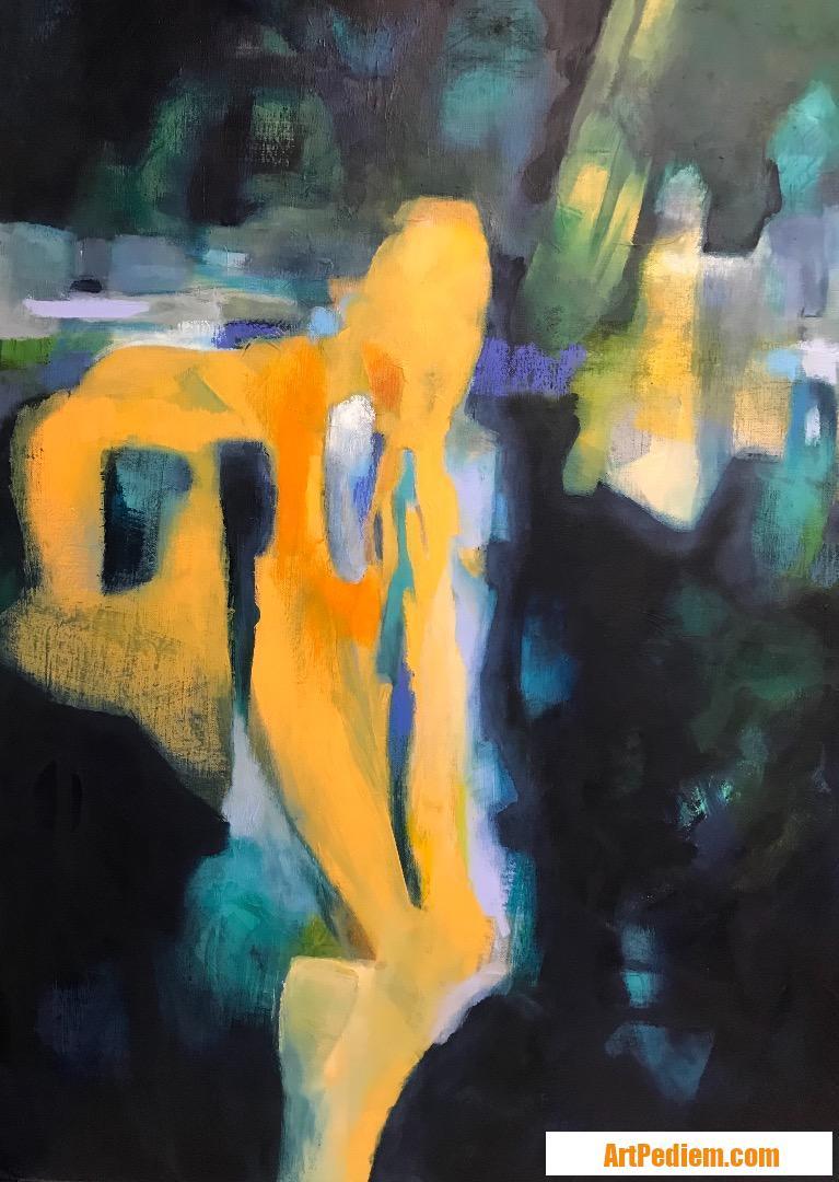 Oeuvre CMM54  Reflexion vagabonde de l'Artiste Catherine Mignot-Masi - CMM