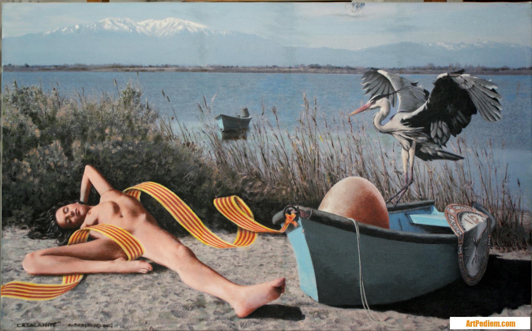 Oeuvre Catalanité de l'Artiste Bonnand Alain