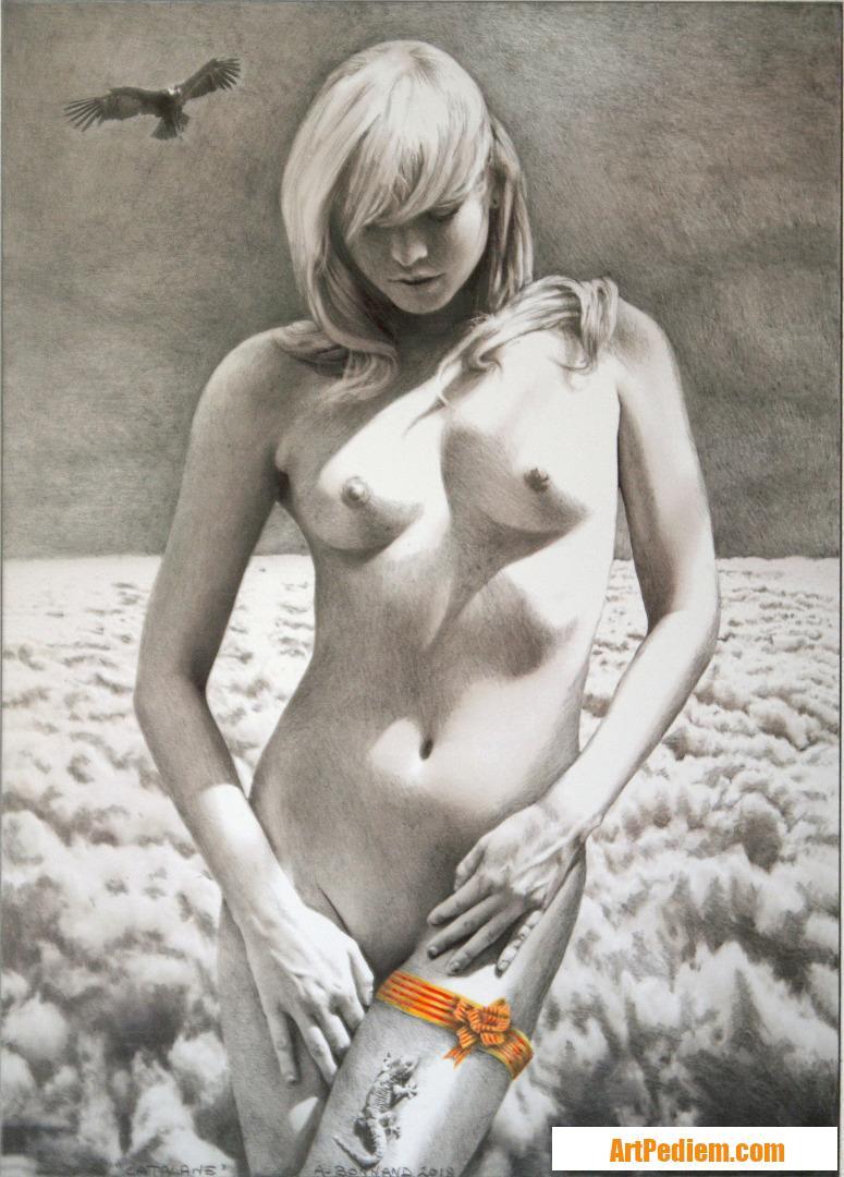 Oeuvre Catalane de l'Artiste Bonnand Alain