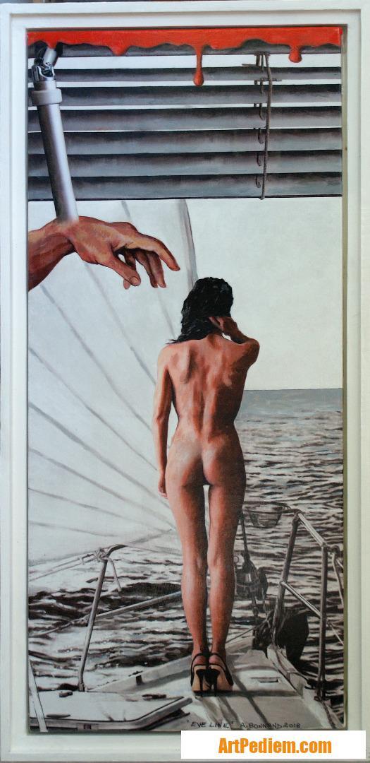 Oeuvre Eve Line de l'Artiste Bonnand Alain