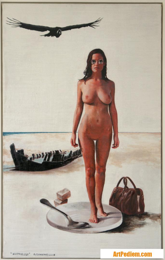 Oeuvre Expresso de l'Artiste Bonnand Alain