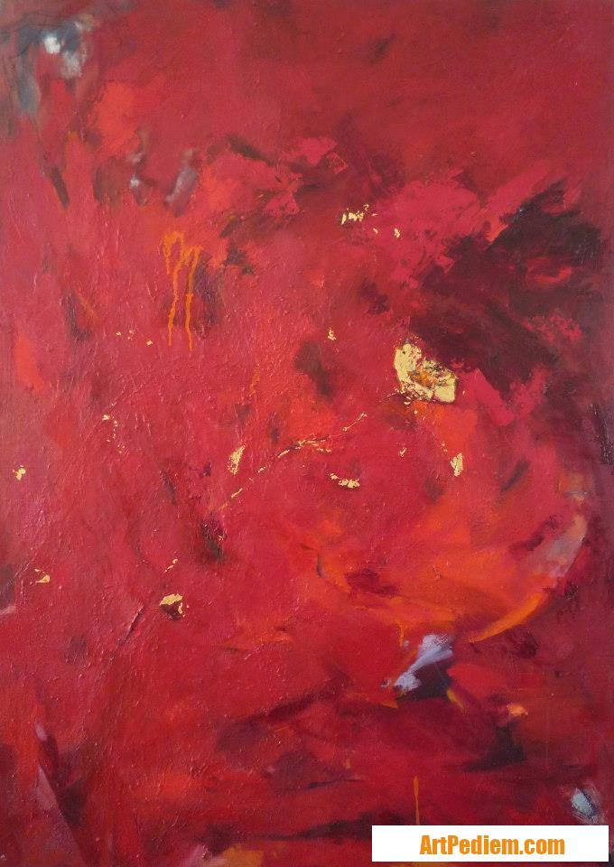 Oeuvre Una flor de l'Artiste Beatriz Moya