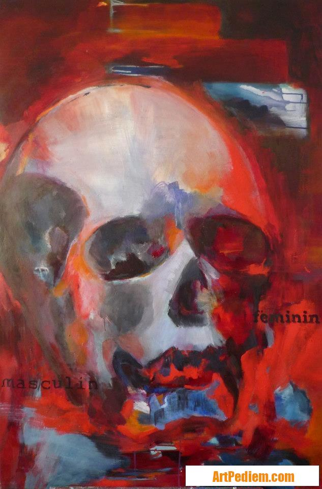 Oeuvre Féminin - masculin de l'Artiste Beatriz Moya