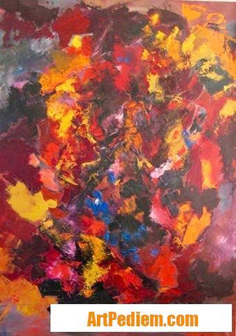 Oeuvre Raices 1 de l'Artiste Beatriz Moya