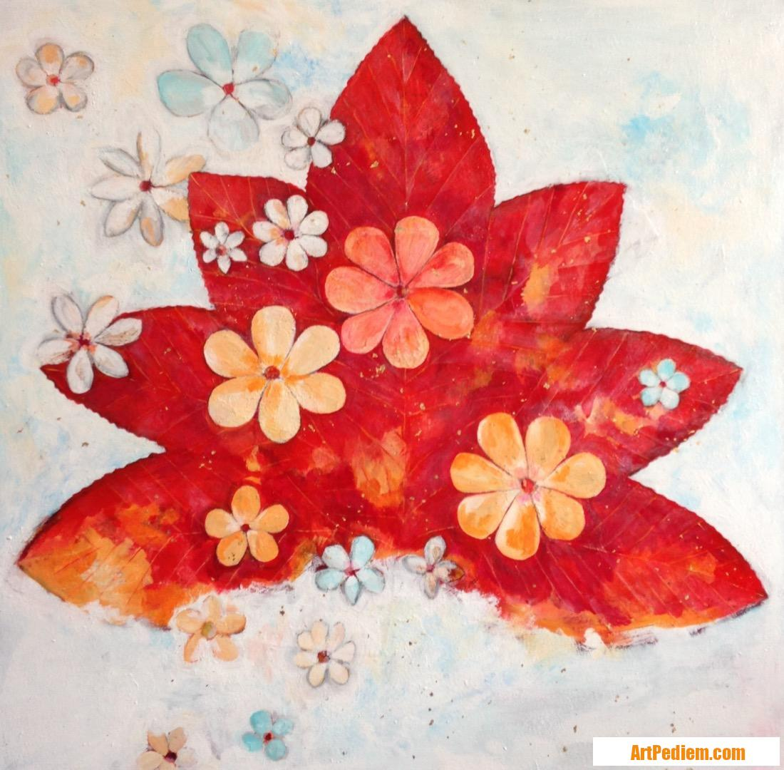 Oeuvre Impression automnale de l'Artiste Beatriz Moya