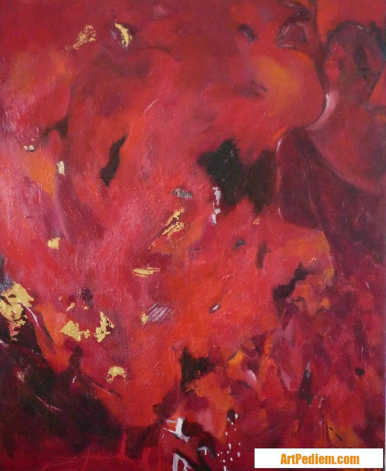 Oeuvre La bailarina II de l'Artiste Beatriz Moya