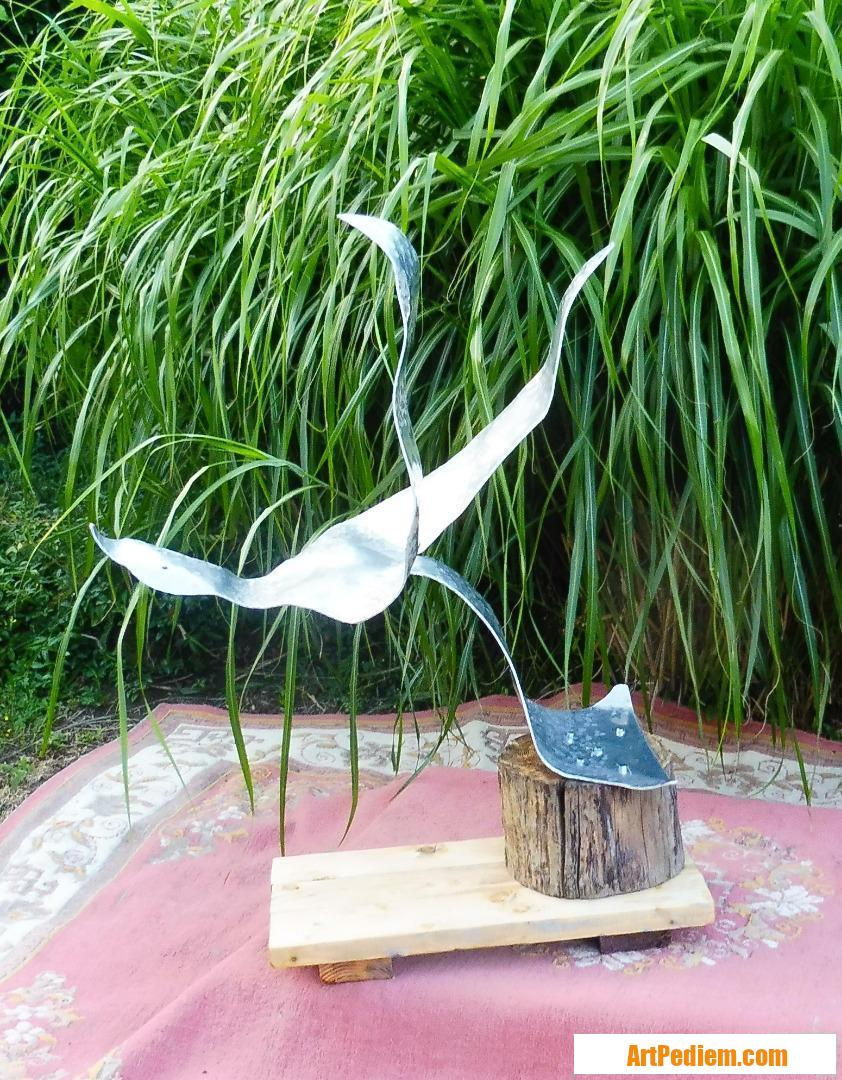 Oeuvre Départ de l'oiseau de l'Artiste servin