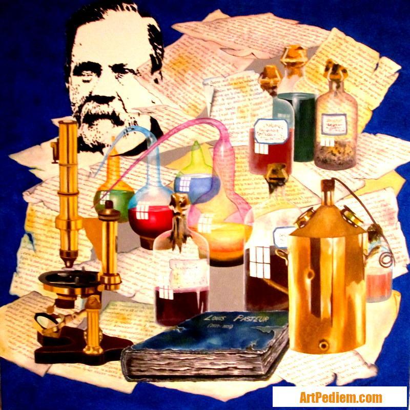 Oeuvre Louis Pasteur de l'Artiste PACAUD