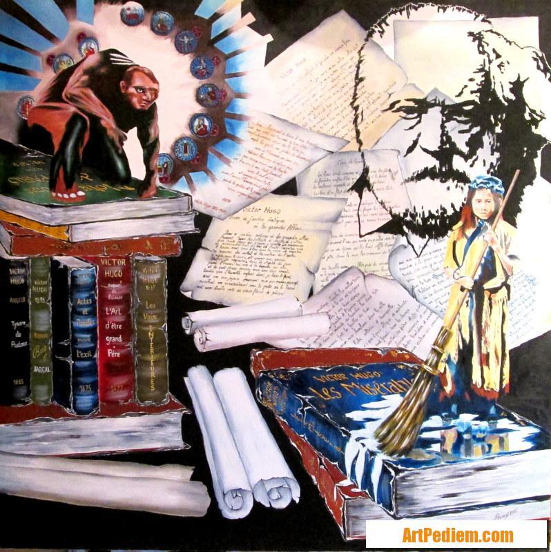 Oeuvre Victor Hugo de l'Artiste PACAUD
