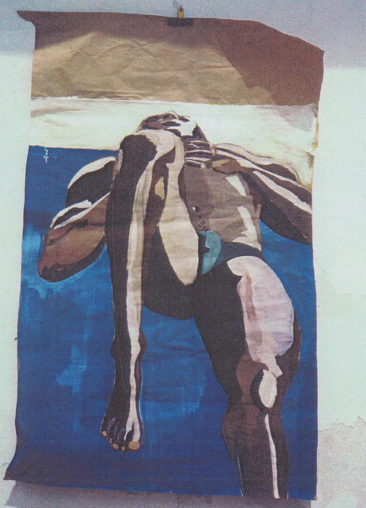 Oeuvre nu sur craft de l'Artiste jean-baptiste des gachons