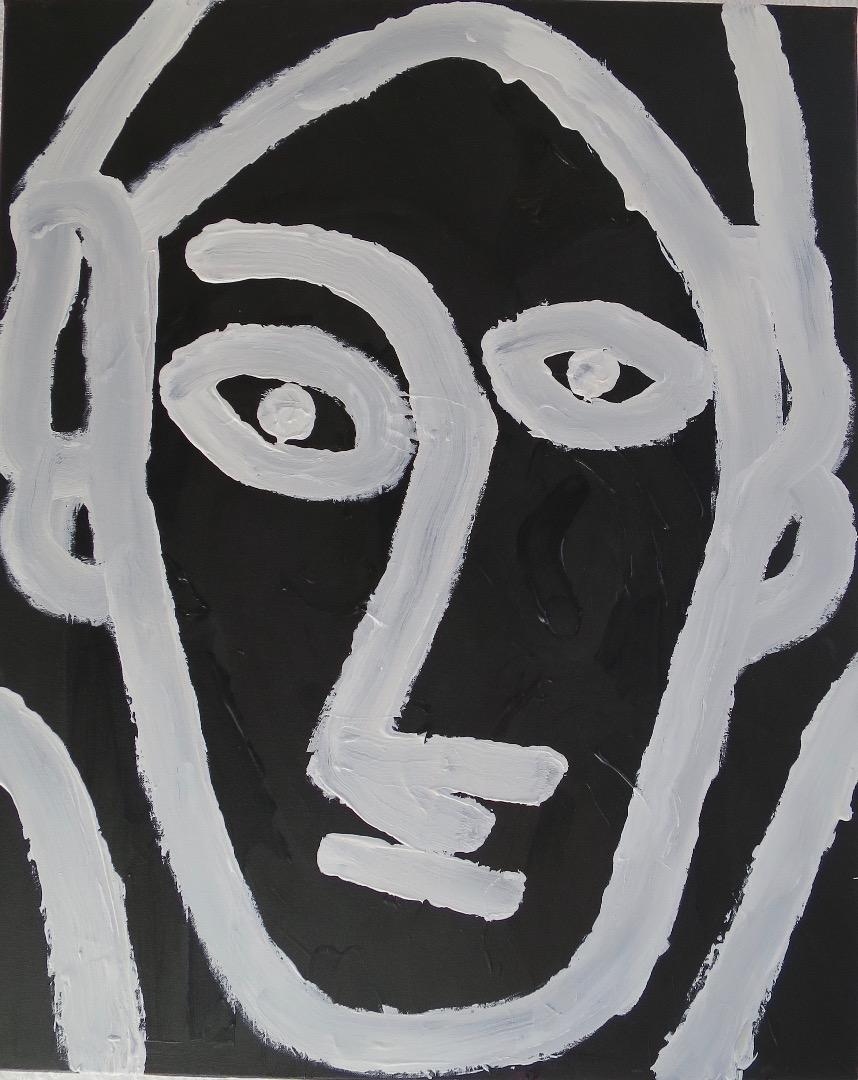 Oeuvre acrylique de l'Artiste jean-baptiste des gachons