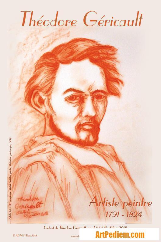 Oeuvre affiche Théodore Géricault de l'Artiste Michel Boettcher