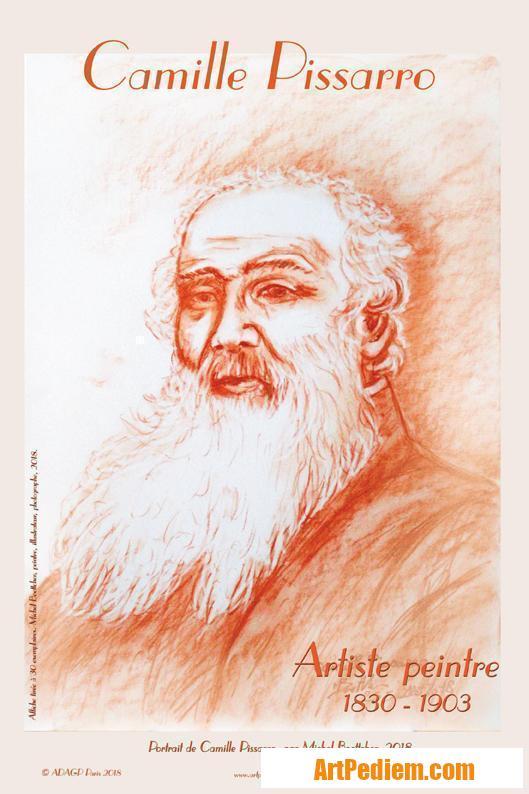 Oeuvre afiche Camille Pissarro de l'Artiste Michel Boettcher