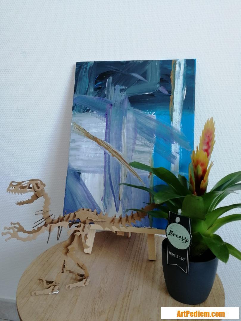 Oeuvre Blue de l'Artiste Themscroft